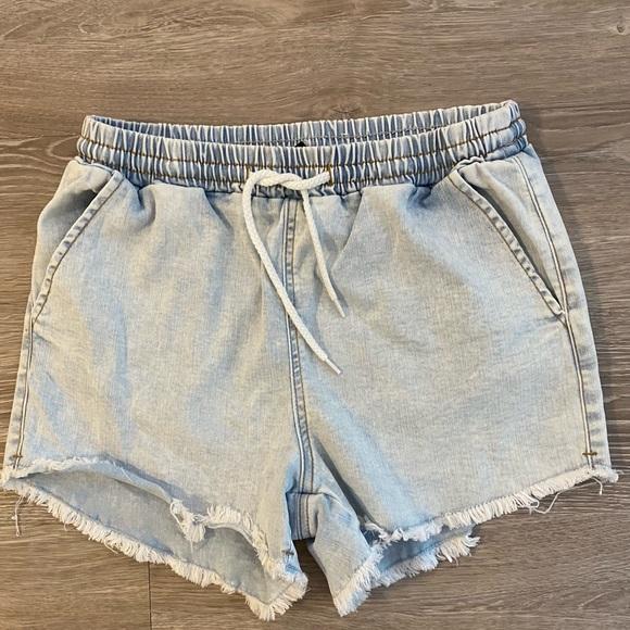 Wild Fable Drawstring Denim Shorts